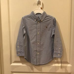 NEW WITH TAGS RALPH LAUREN OXFORD BUTTON DOWN